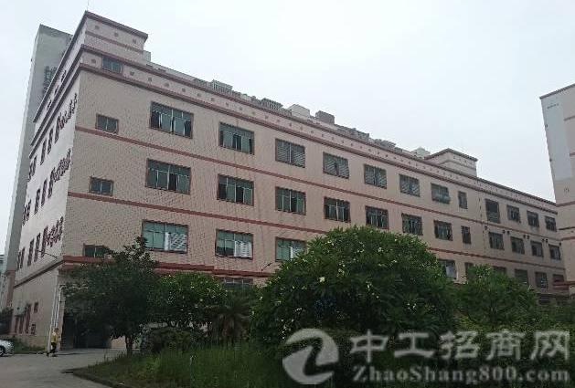 公明田寮南光高速口旁新出楼上红本厂房1330平方-图4