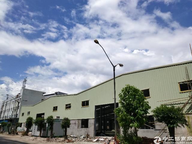 长安镇厦边新出14000平全新钢构厂房