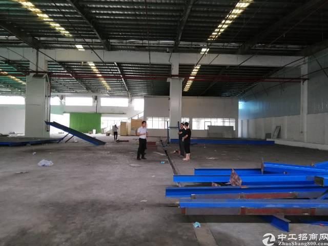 惠州镇隆原房东2340平钢构厂房