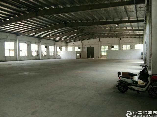 惠州市惠城区钢构仓库出租3500平,滴水九米,带卸货平台