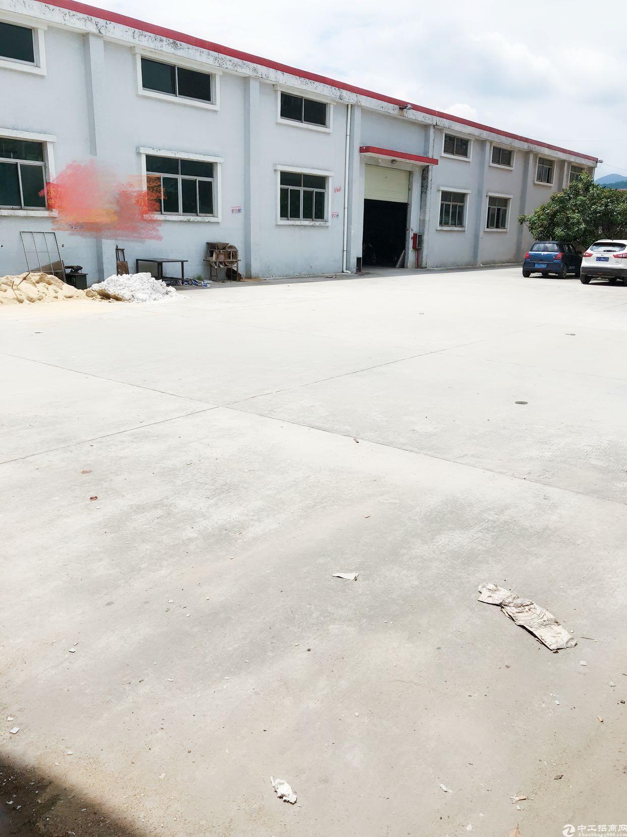 樟木头靠谢岗原房东标准单一层滴水7米高厂房2800平方出租