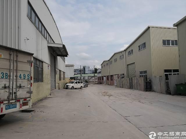 黄江全新钢结构厂房出租