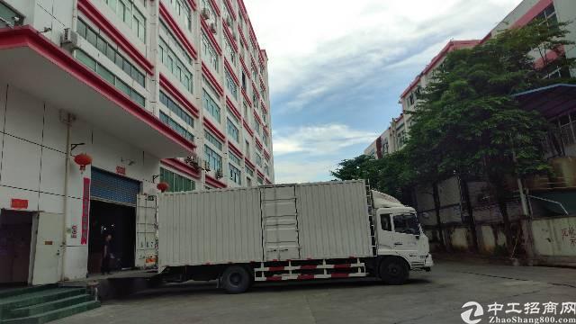 光明龙大高速出口大型园区带装修厂房整层2900招租