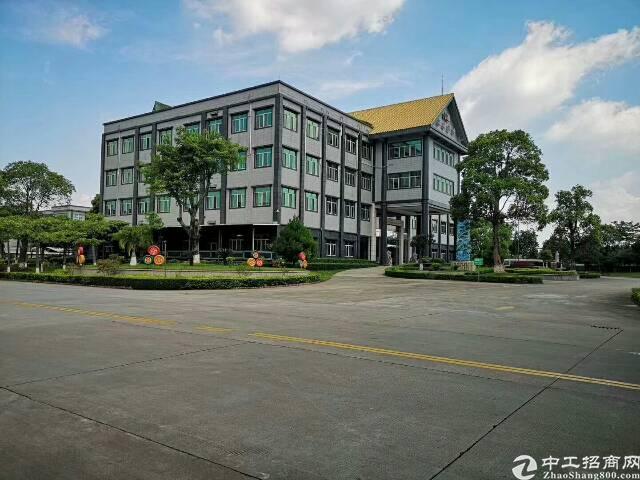 厚街成熟工业区花园式别墅厂房招租厂房5.6万平米,宿舍5.4