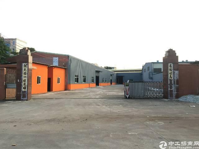 企石镇中心工业区独院单一层铁皮房3000平方