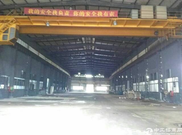 坪地年丰新出2600平独栋钢构厂房滴水9米出租