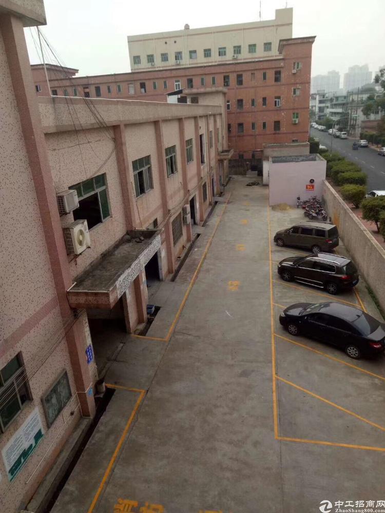 松岗高速出口附近新出原房东独栋厂房3700平米,一楼6米高
