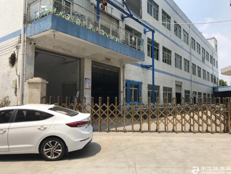 公明南光高速下村出口3400平米原房东独院厂房