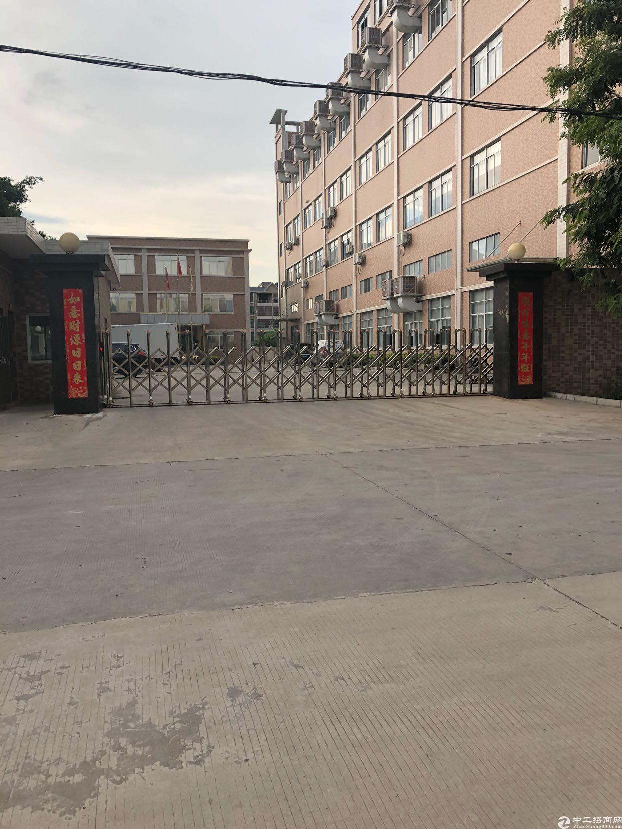 东莞谢岗原房东标准厂房二楼整层3000平方12元/平方出租