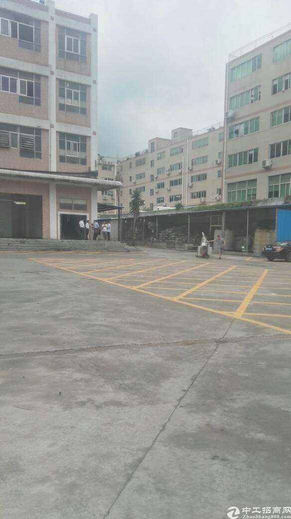 布吉上李朗工业区新出800平带装修标准厂房出租
