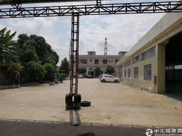 石湾镇新出砖墙到顶单一层厂房招租,可办环评