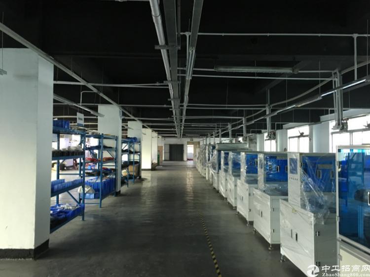 横岗荷坳地铁带装修1300平米厂房出租
