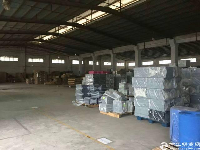 梅观高速口 独门独院钢构6200平带卸货平台