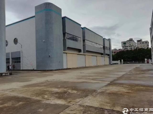 物流的客户看过来,福永新出独院一楼3.4万平方大小分租