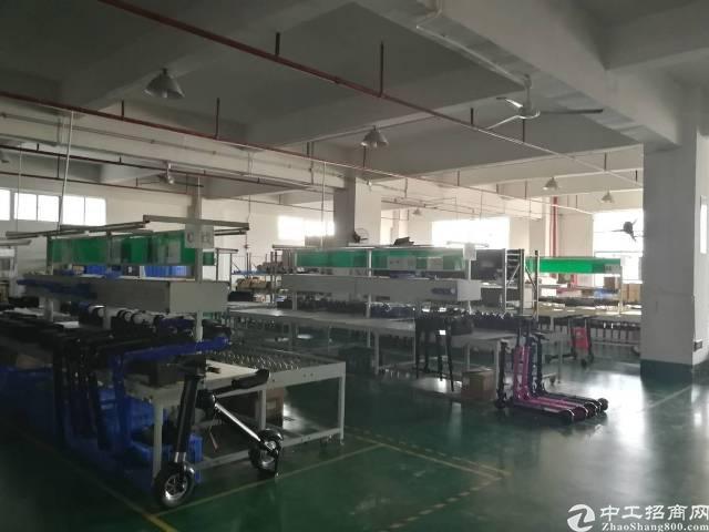 沙井镇大王山楼上精装修整层3300平米厂房出租-图7