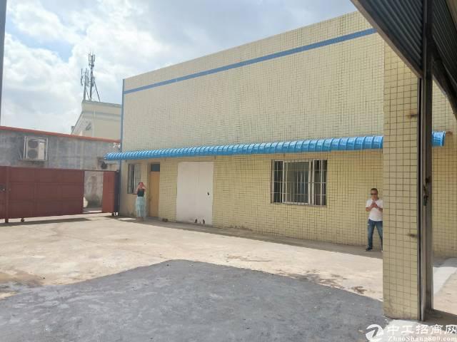 茶山镇2500平米单一层独院厂房出租