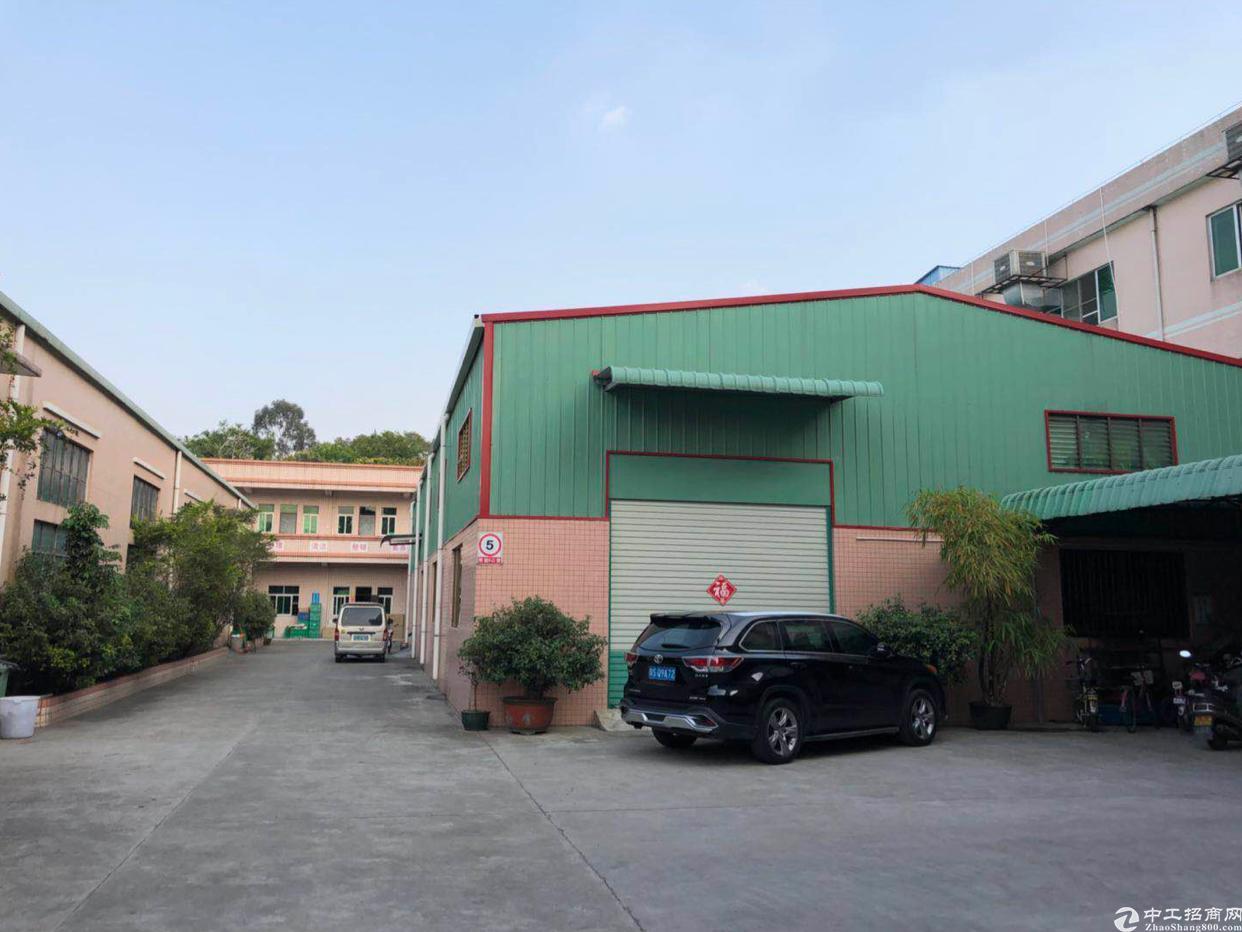 东莞中堂镇国土证厂房出售占地10亩