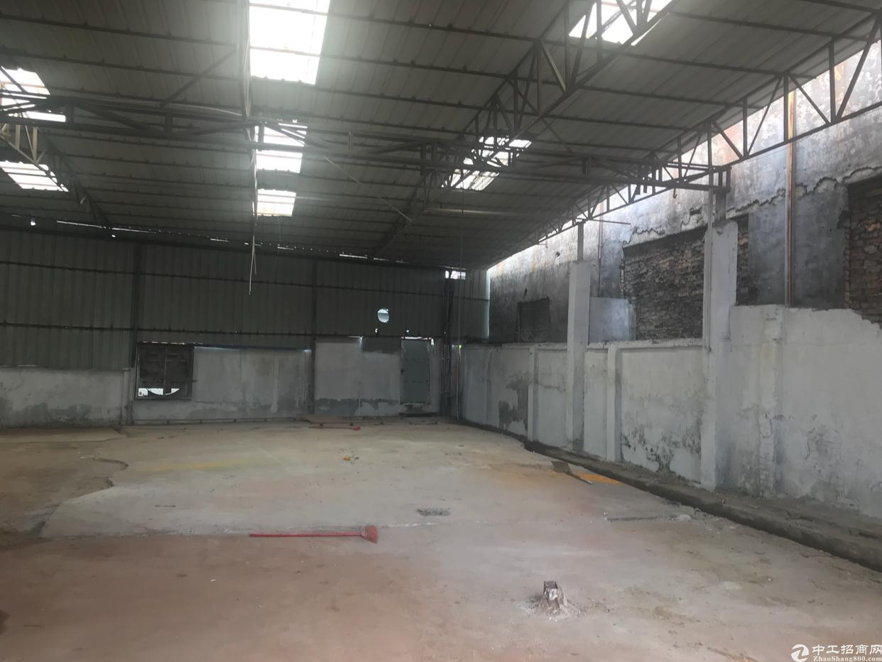 松岗东方原房东钢构厂房1800平