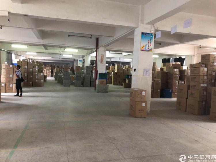 横岗地铁站附近楼上厂房1750平米出租/两层共3500平米
