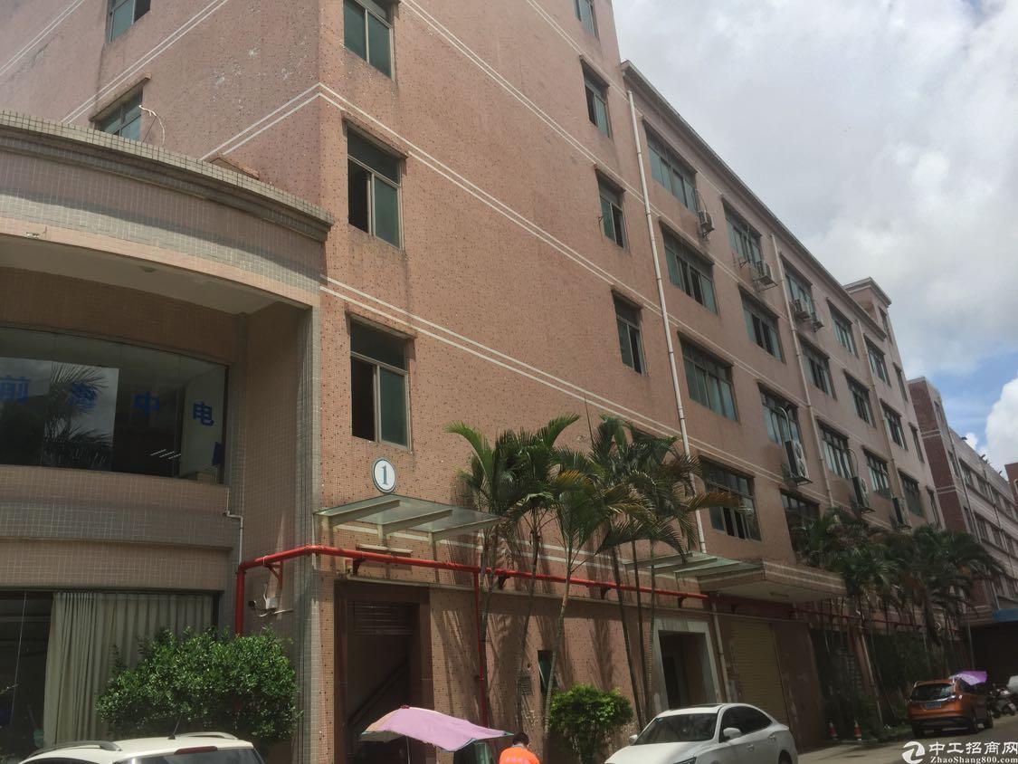 石岩应人石工业园新出一栋5楼1120平厂房出租转让带装修
