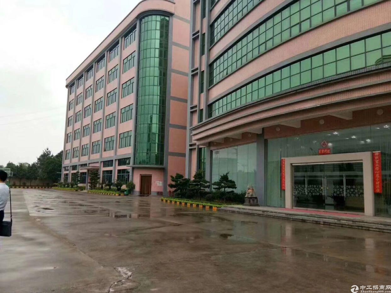 布吉水官高速出口附近独门独院厂房30000平方可分租