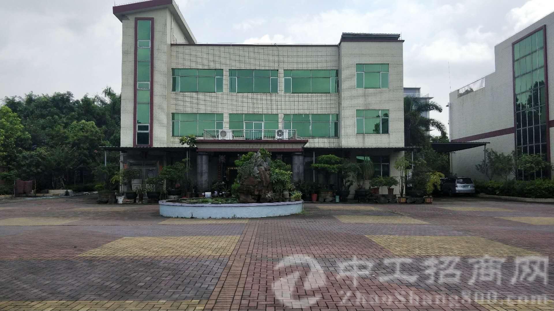 茶山镇占地 1650 ㎡,建筑 2000 ㎡集体证厂房出售