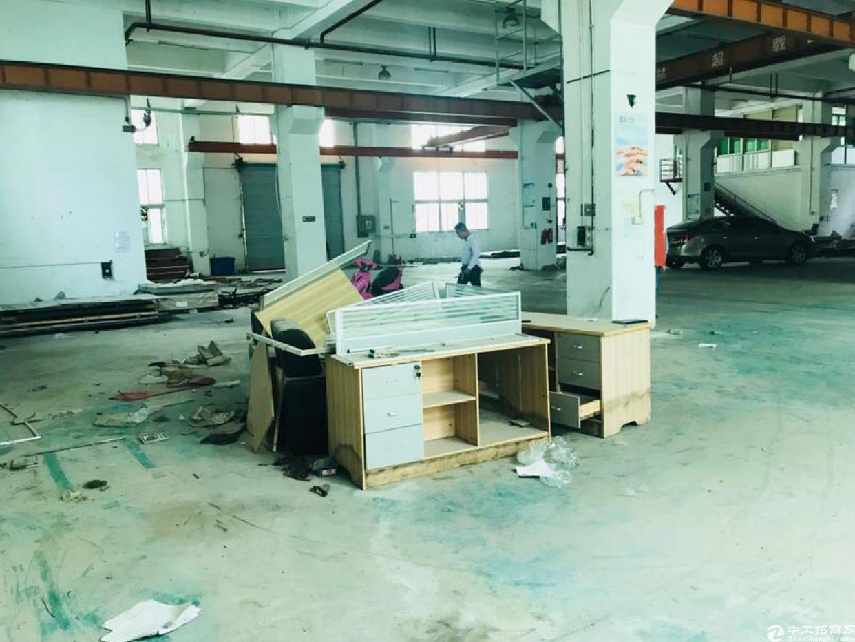 观澜新出一楼6米1250平带航车重工业厂房招租-图3