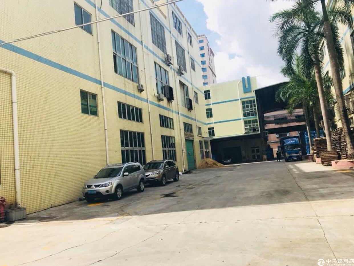 观澜新出一楼6米1250平带航车重工业厂房招租-图5