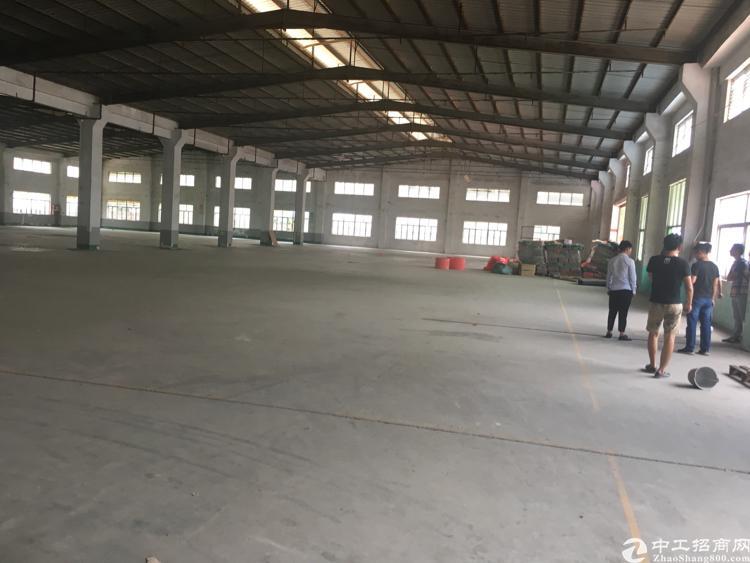 观澜独院钢构6200平卸货平台空地大