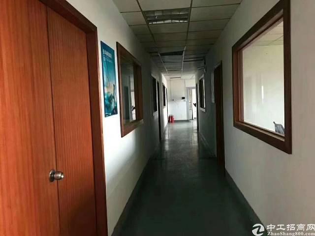 沙井107国道边楼上整层1000平米精装修厂房出租-图2