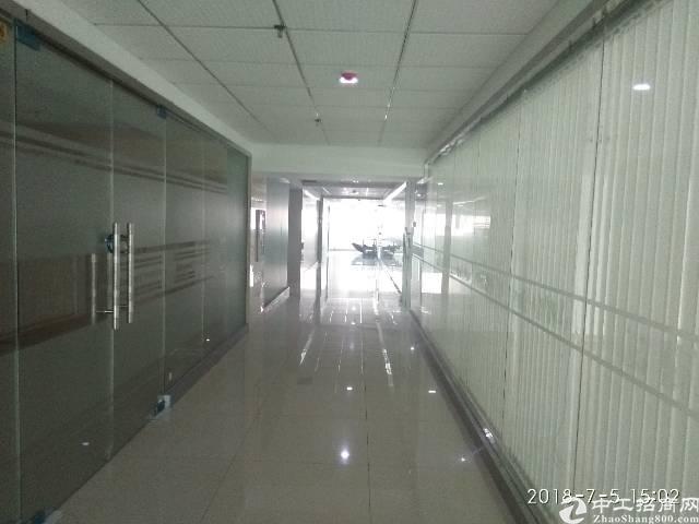 龙华石观工业区旁楼上精装200平方厂房低价出租