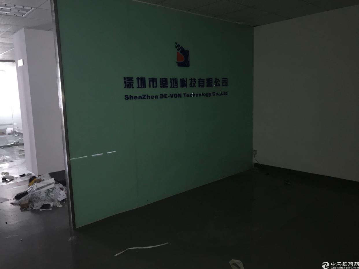 龙华清湖地铁站附近1108平精装修厂房招租