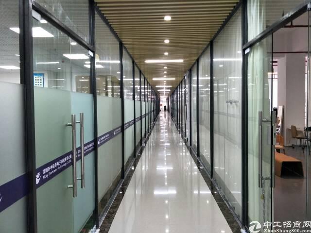 西丽地铁口新出楼上300平方写字楼超低价出租