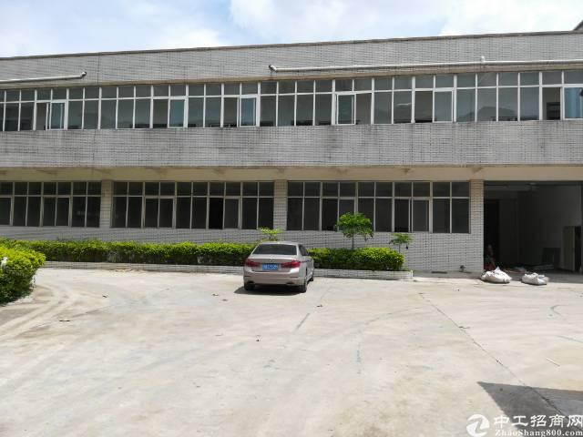 大岭山经典独院厂房6000方出租18元