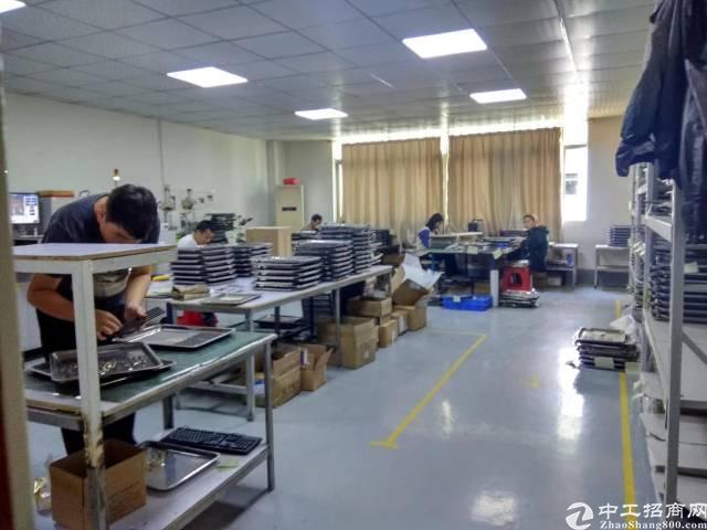 福永107国道边带装修无需转让费600平厂房