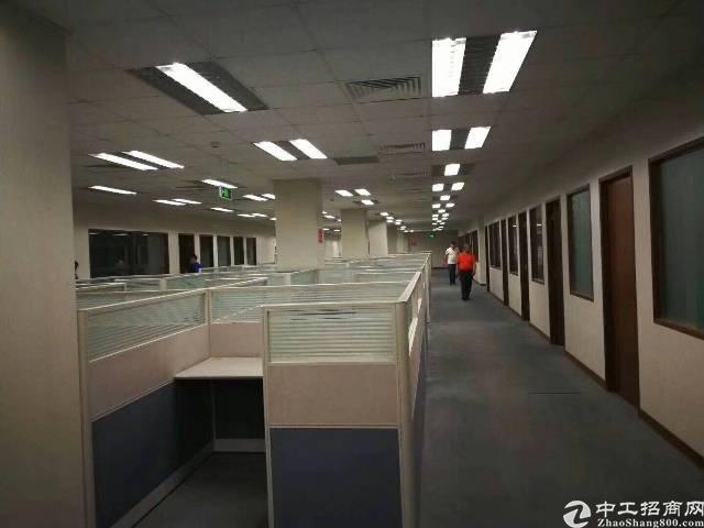坂田五和地铁站办公厂房500平方,可以分租