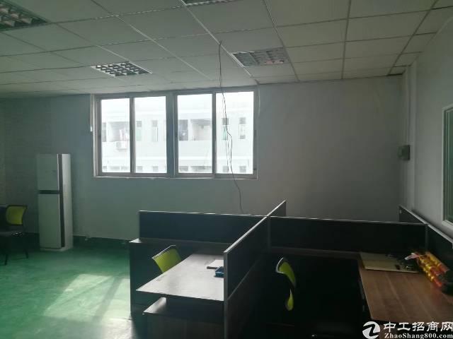 沙井松福大道新出楼上带装修500平米厂房出租