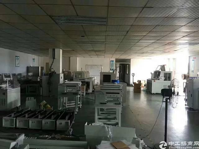 沙井107国道边楼上整层1000平米精装修厂房出租