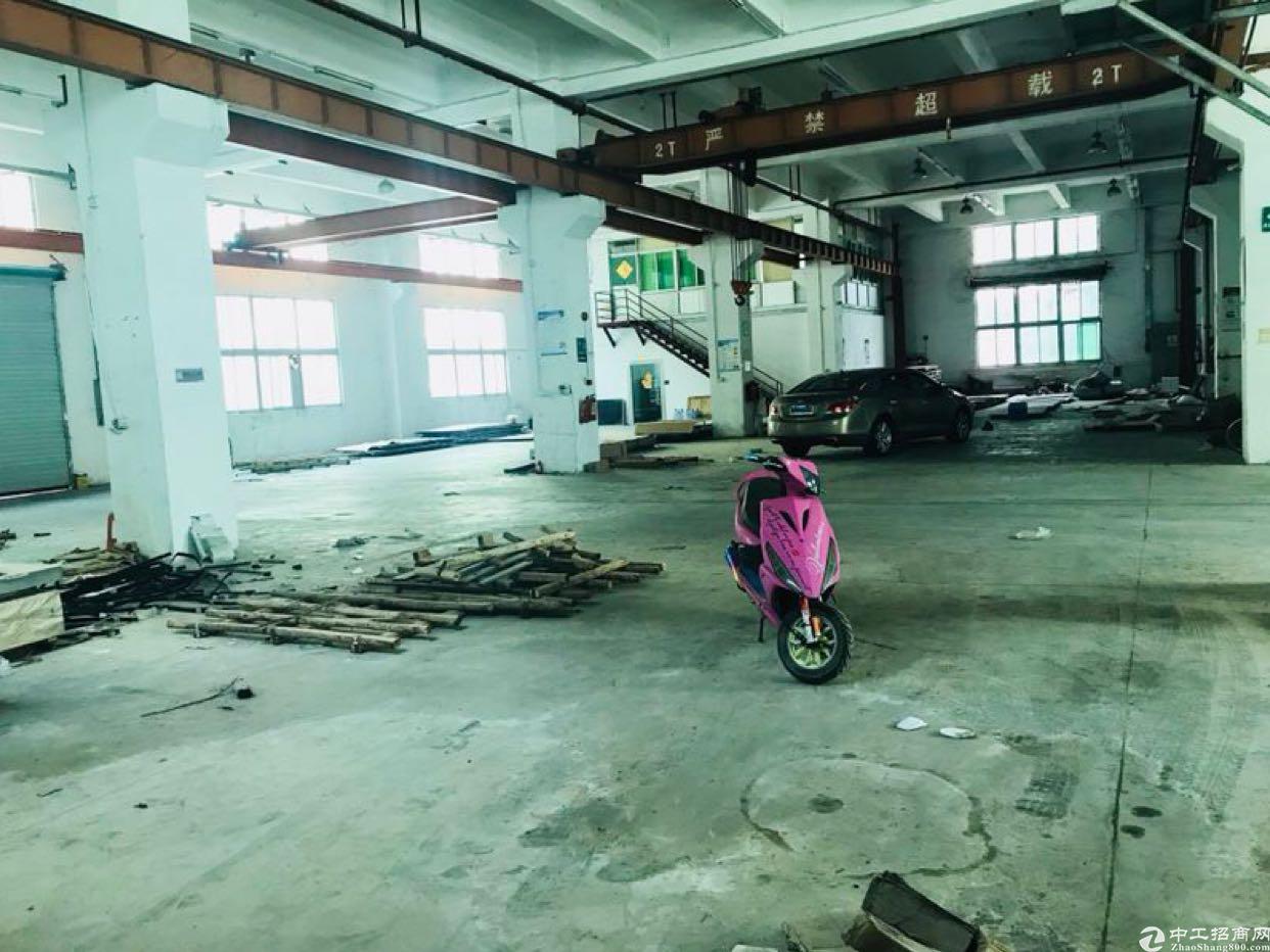 观澜新出一楼6米1250平带航车重工业厂房招租-图2