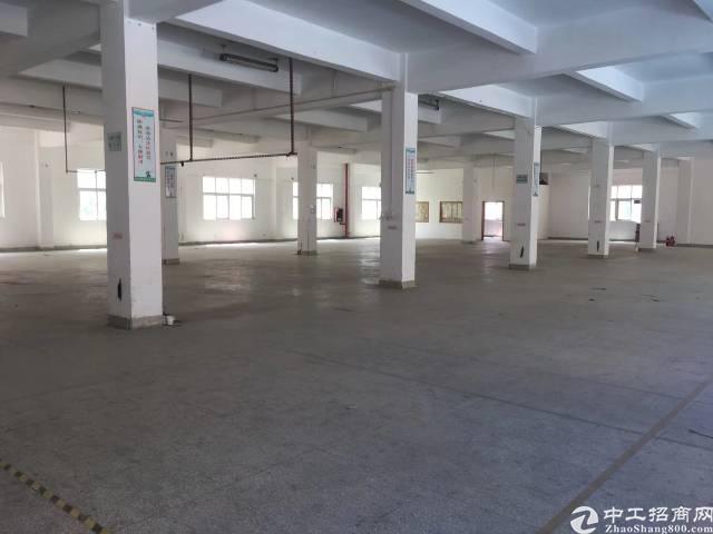 横岗六约一楼600平米厂房招租