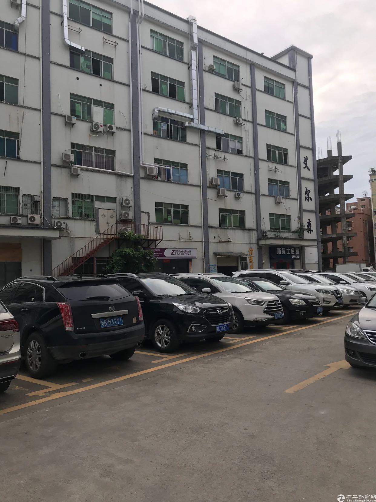 坂田天安云谷傍边新出1500平方厂房带装修停车位多