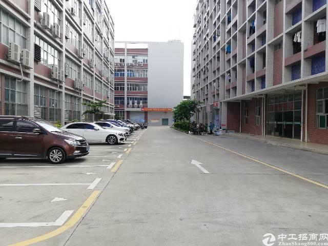 石岩楼上整层4250平米带红本厂房出租