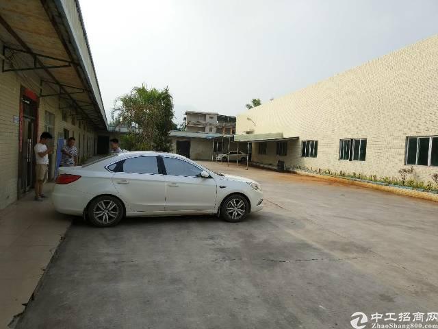 陈江镇甲子工业区滴水7米高独院钢构厂房3000平方米