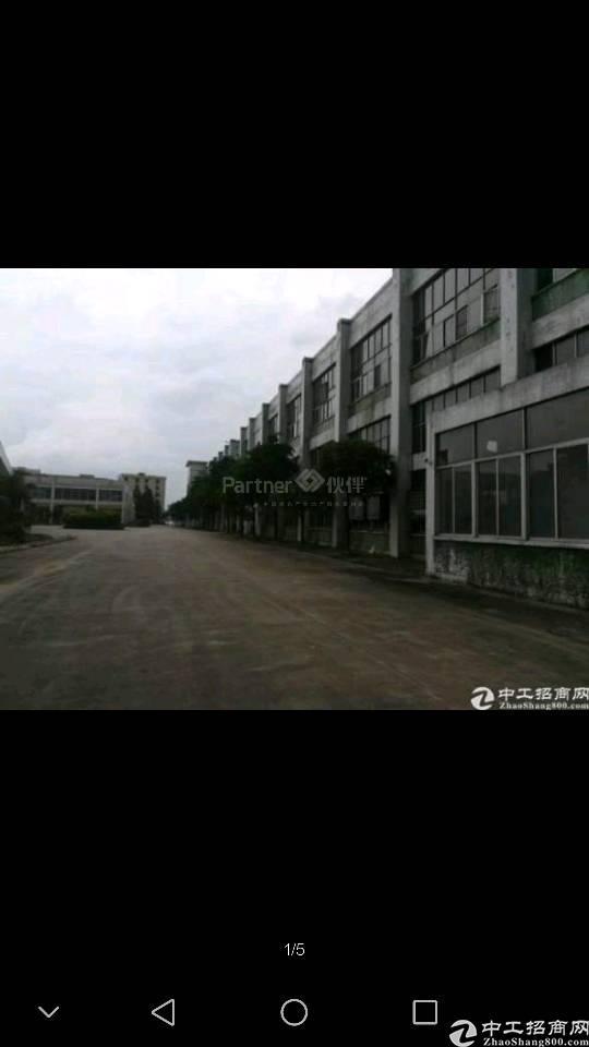 高埗镇成熟工业园区标准厂房二楼分租400平方!