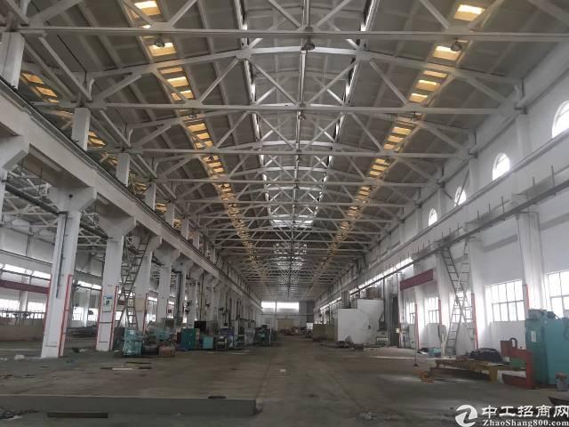 福永沿江高速附近新出48000平物流园招租大小可分