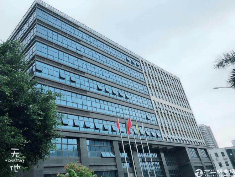 松岗沙江路三面采光写字楼372平米出租高端写字楼环境优美