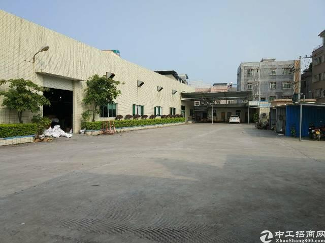 陈江镇甲子工业区滴水7米高独院钢构厂房3000平方米-图4