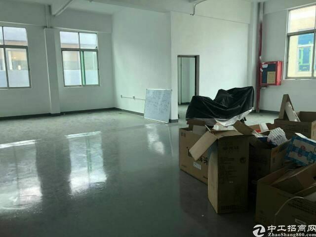 福永新塘工业区楼上精装修800平方办公贸易厂房出租
