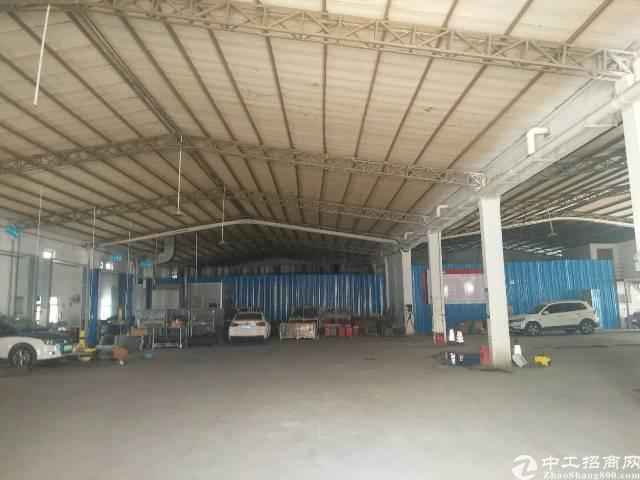 布吉李朗地铁站附近钢构2300平方,大小面积可分租,层高6米-图2
