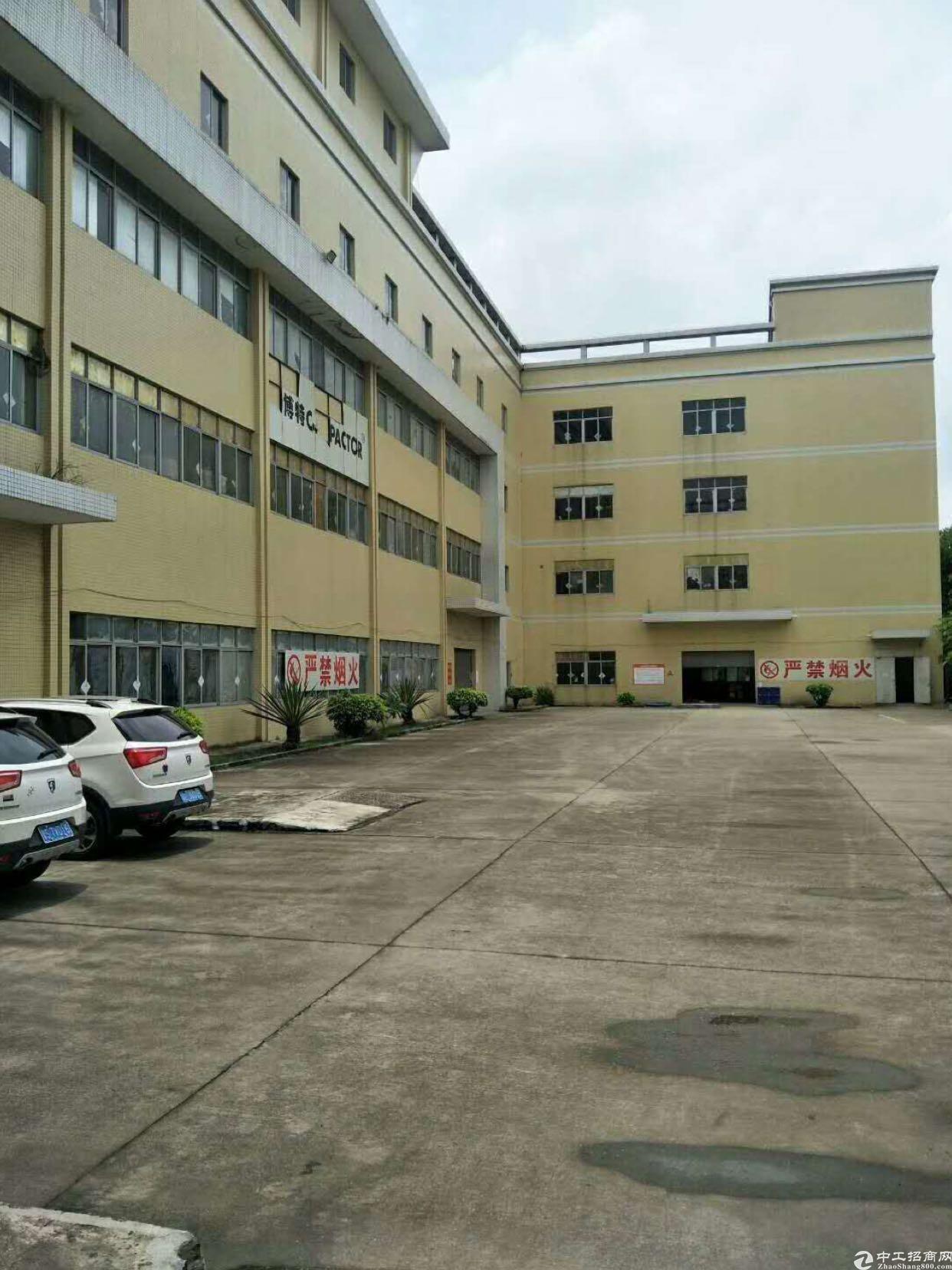 万江新出大型工业园区一楼厂房出租,交通便利!适合各种加工行业
